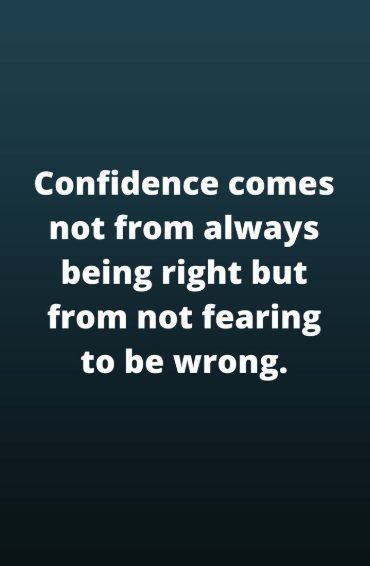 quotation confidence