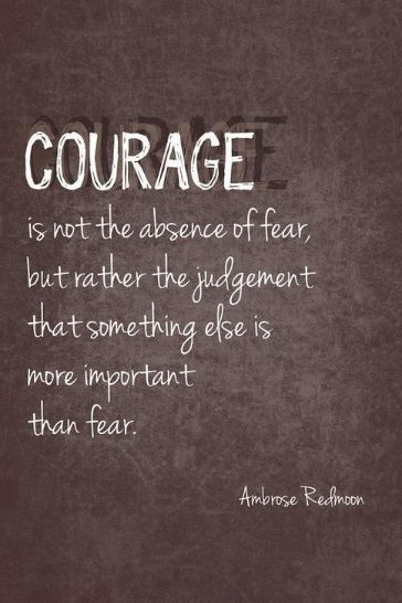 be strong and take courage quotes