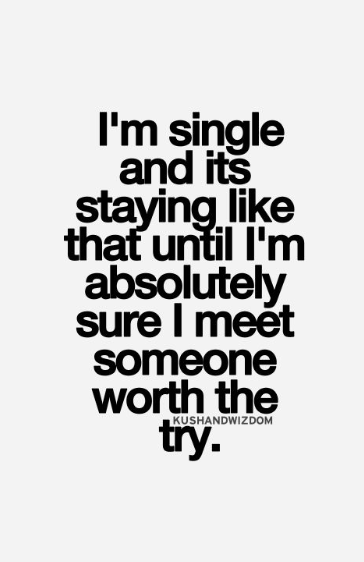 single because quotes