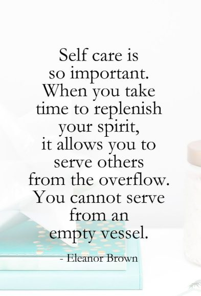 quotes on take care of yourself