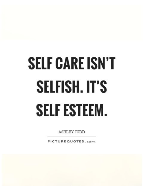 care for yourself quotes