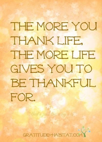 things to be grateful for quotes