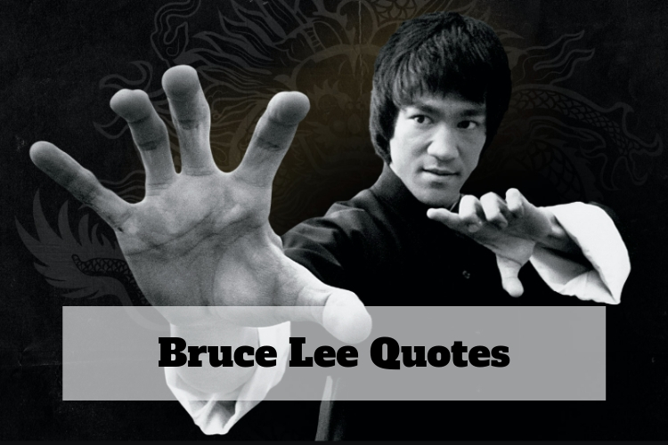 bruce lee famous quote