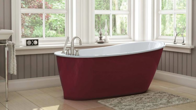 freestanding tub measurements