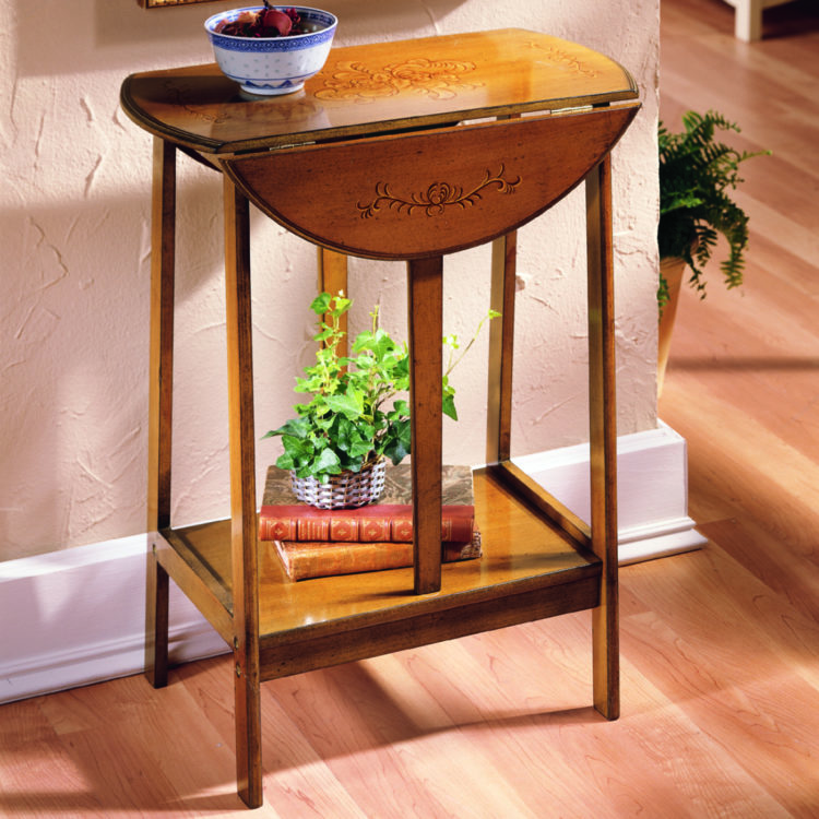 drop leaf table upcycle