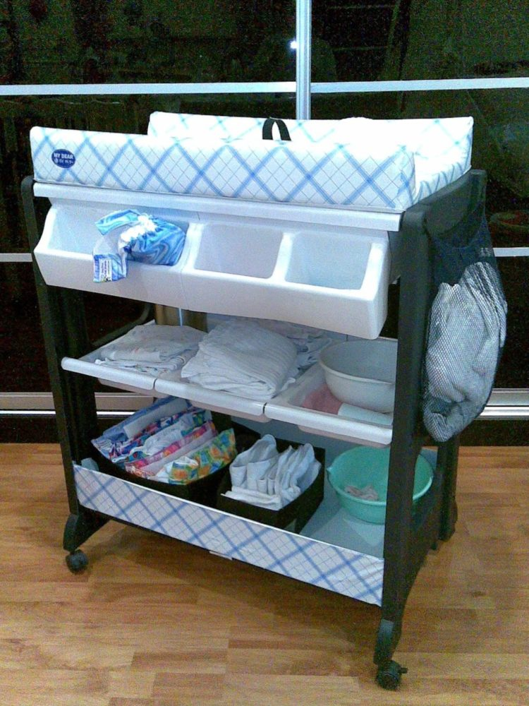 is a changing table topper necessary