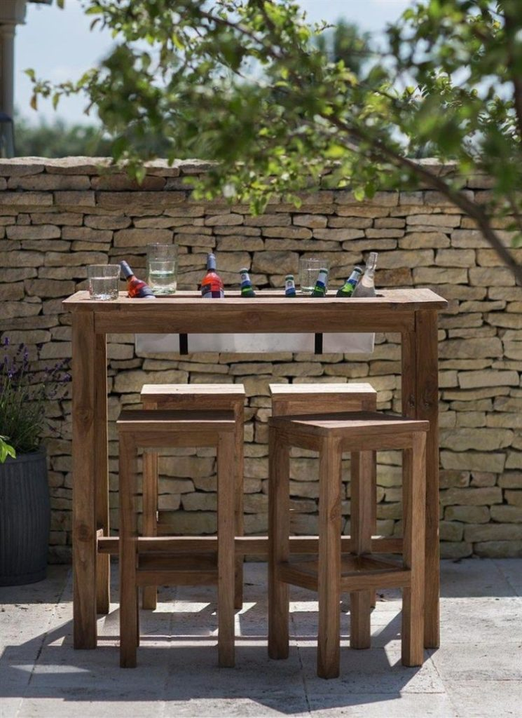 b&m bar table
