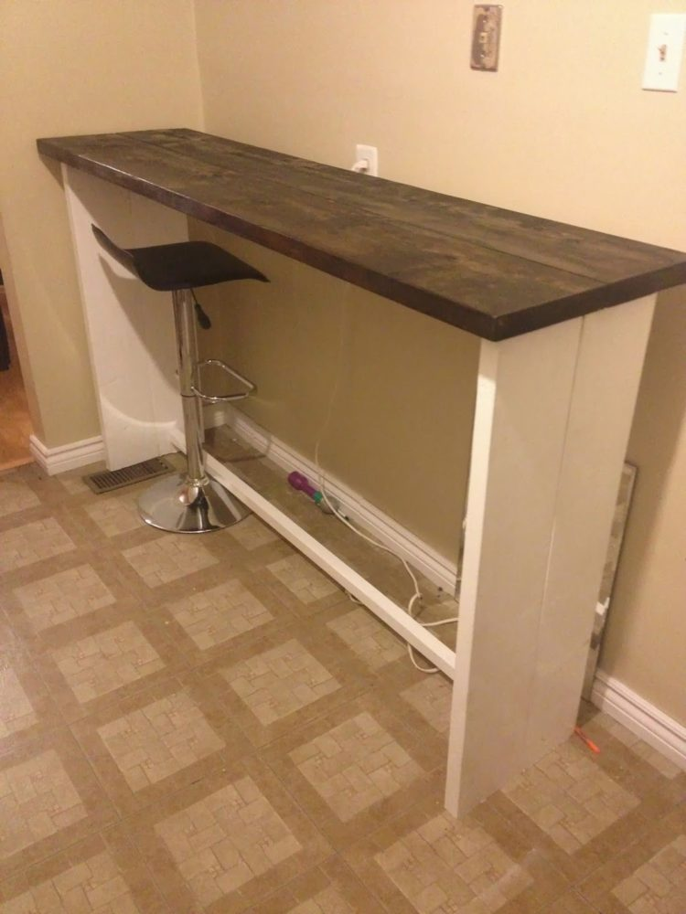 b&q breakfast bar table