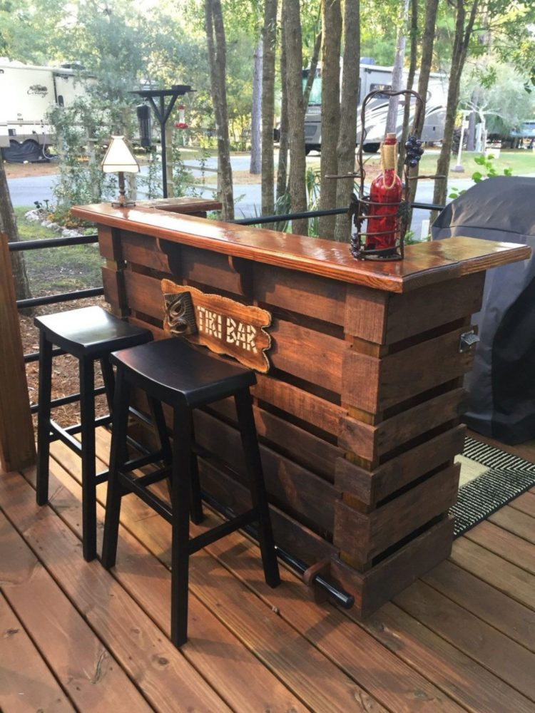 42 h bar table