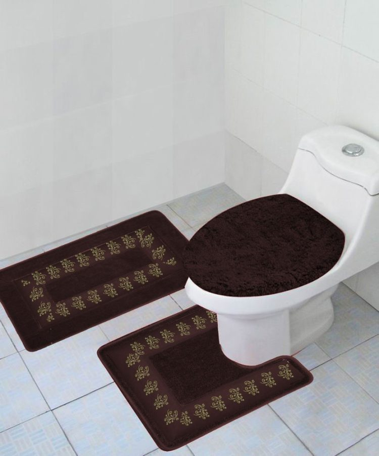 2 piece bathroom rugs