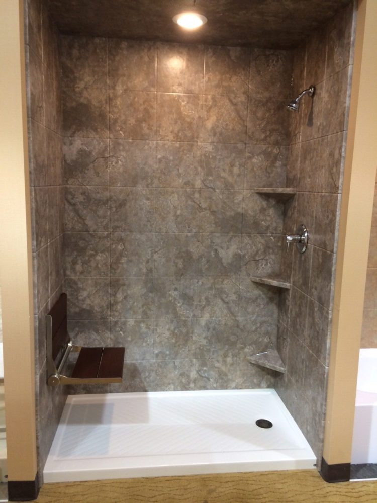 3 sided shower wall panel kit