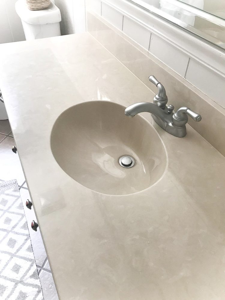 bathroom countertops porcelain