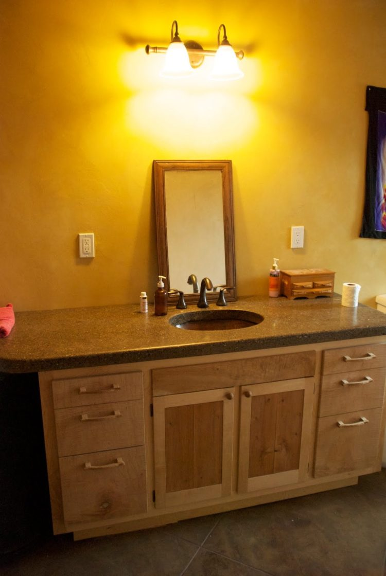 lowes bathroom quartz countertops
