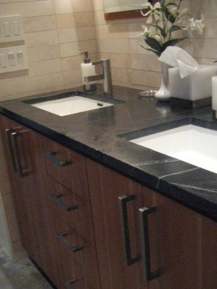 bathroom countertops redo