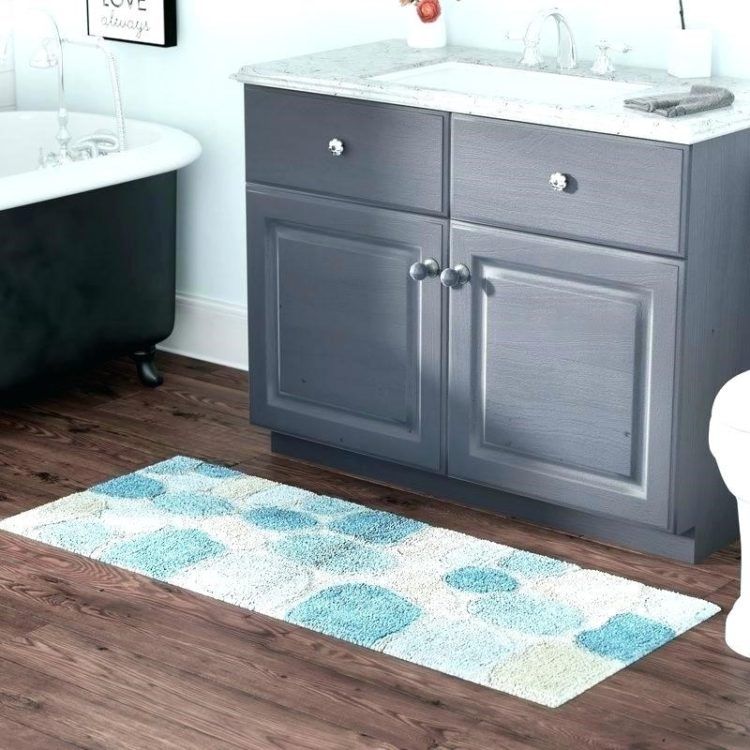 l shaped bathroom rugs