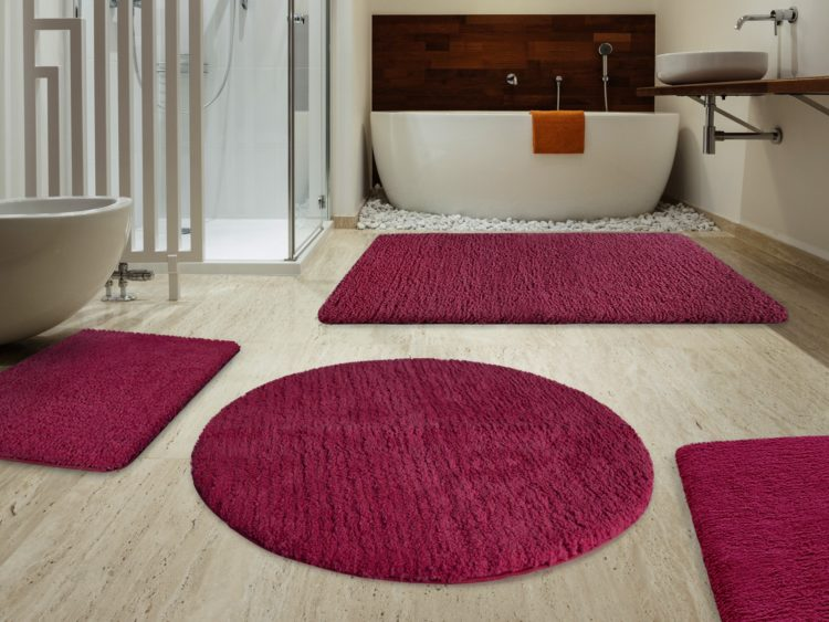 bathroom rugs oval