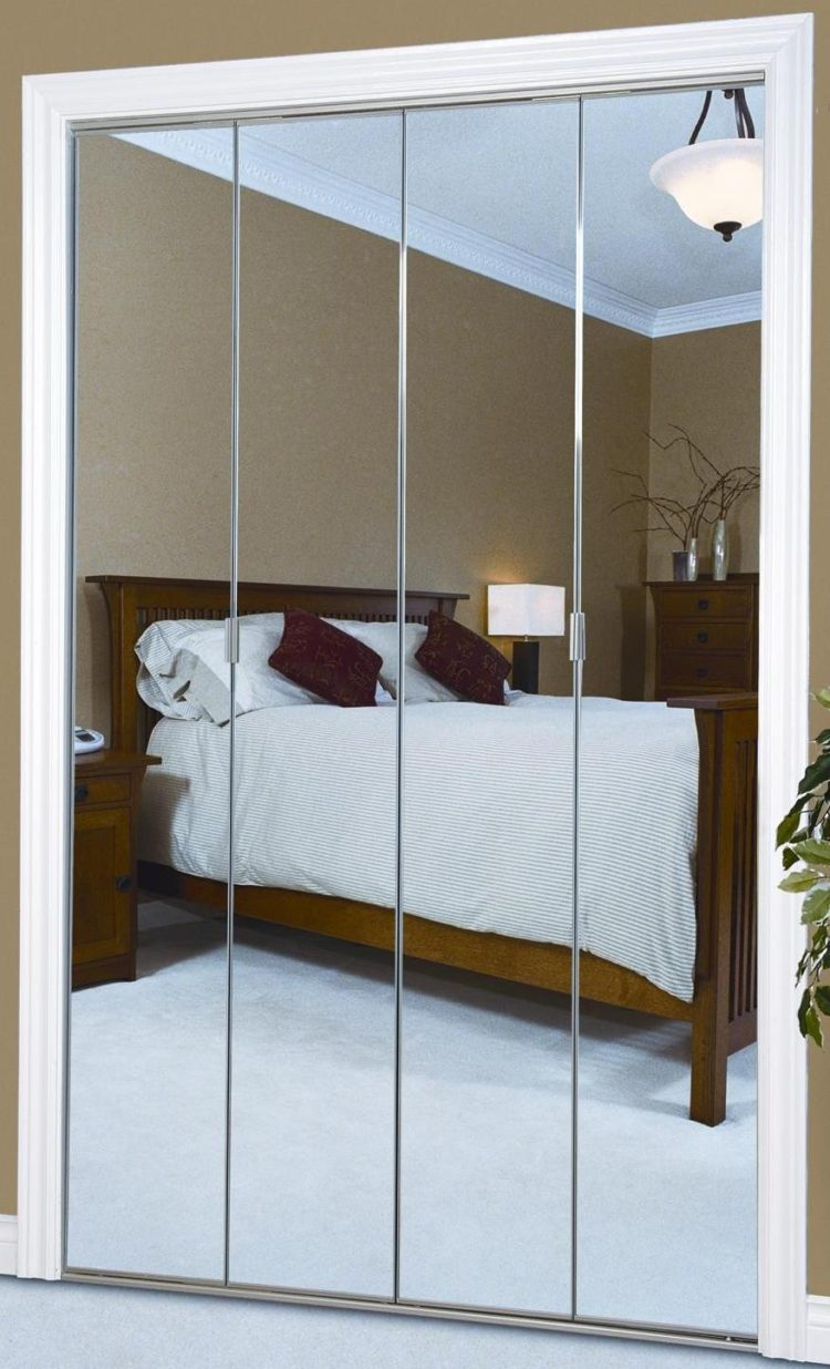bifold closet doors handle placement