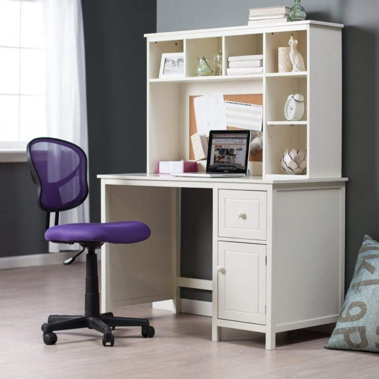 white desk for teenager