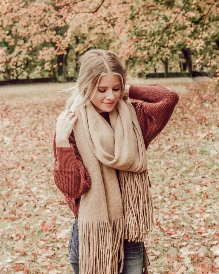 blanket scarf madewell