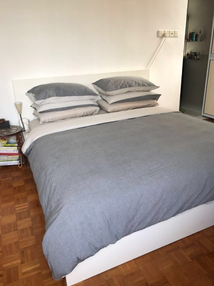 king size bed frame for cheap