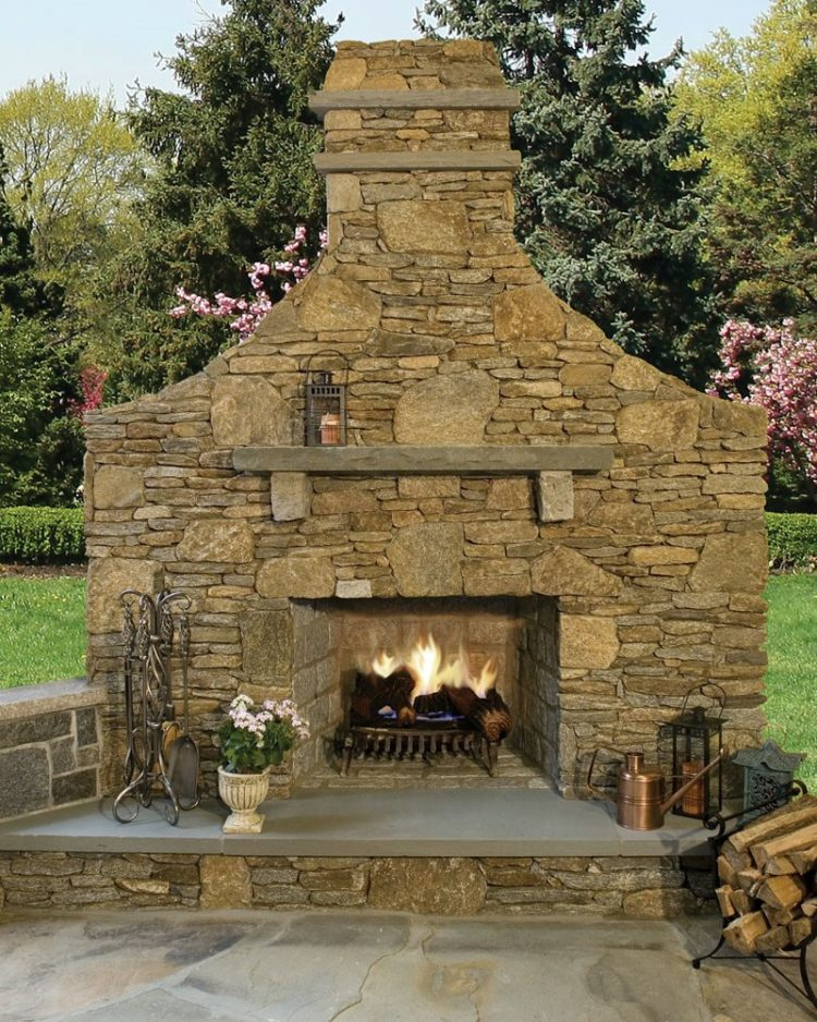 outdoor fireplace new jersey