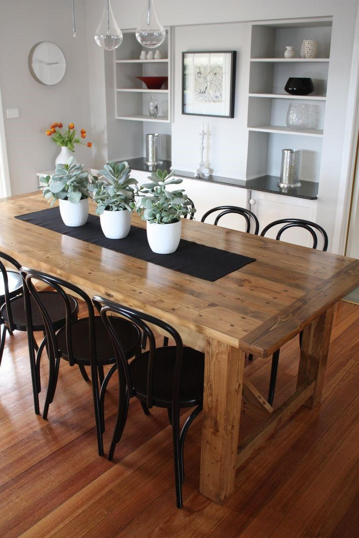 solid wood c table