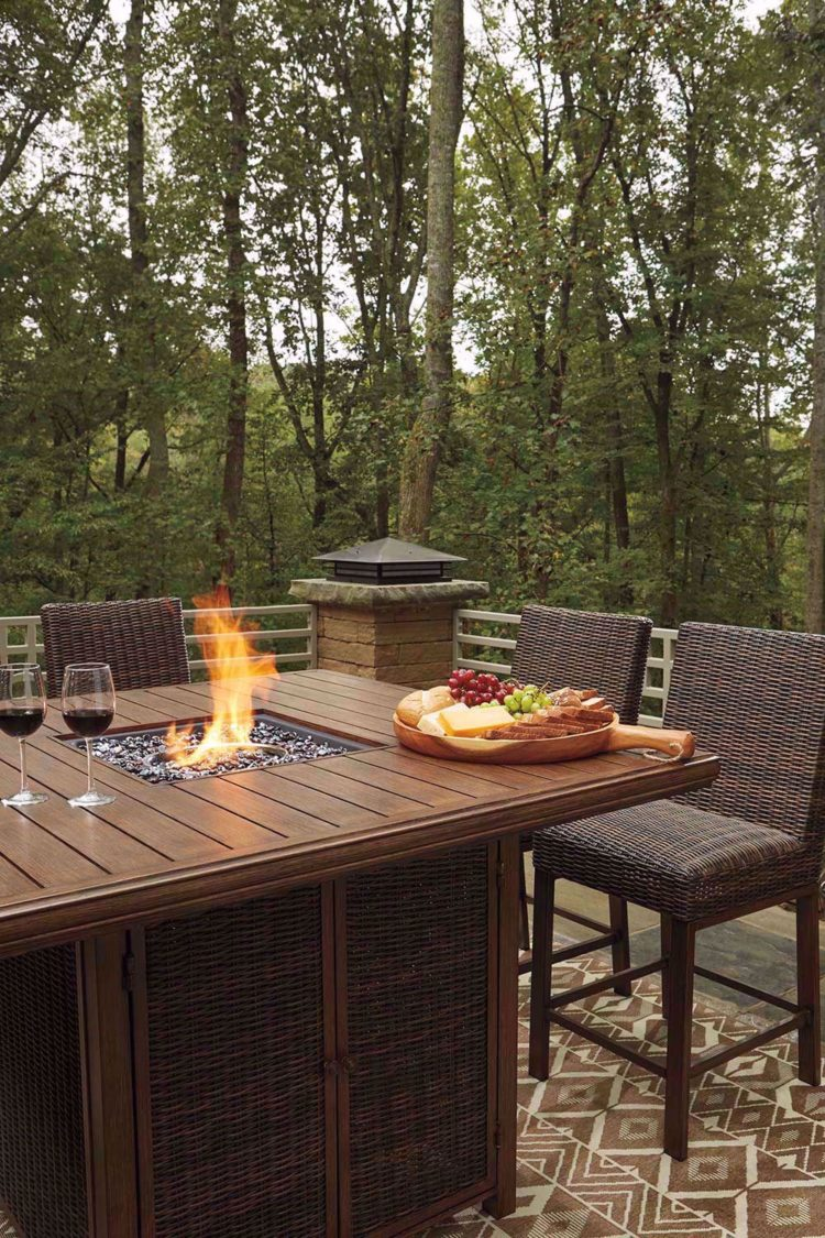 fire pit for table top