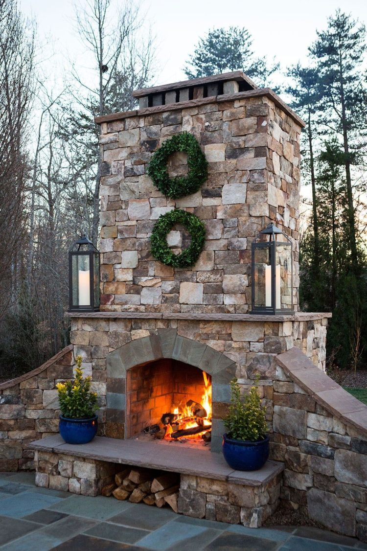 jotul outdoor fireplace