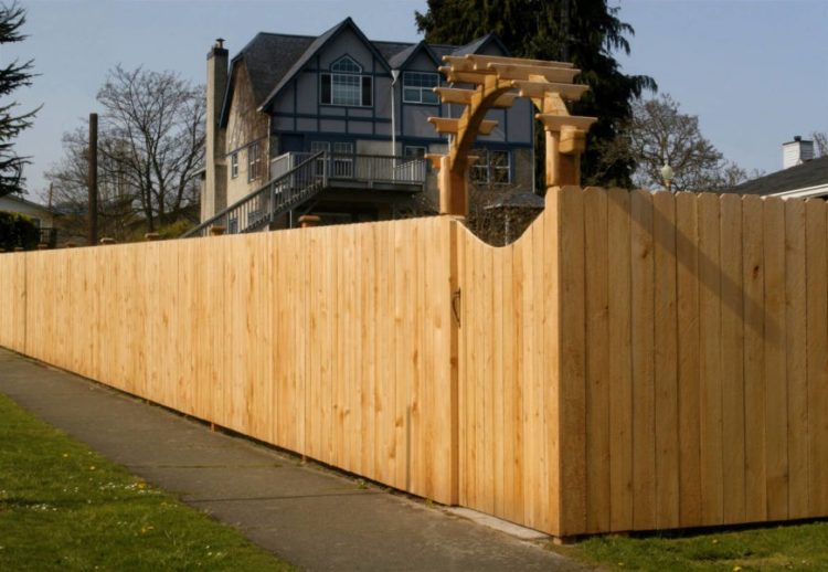wood fence extender