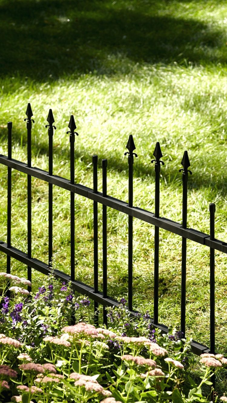 restoring a wrought iron fence