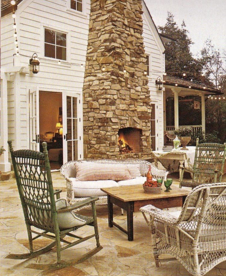 outdoor fireplace kits gas