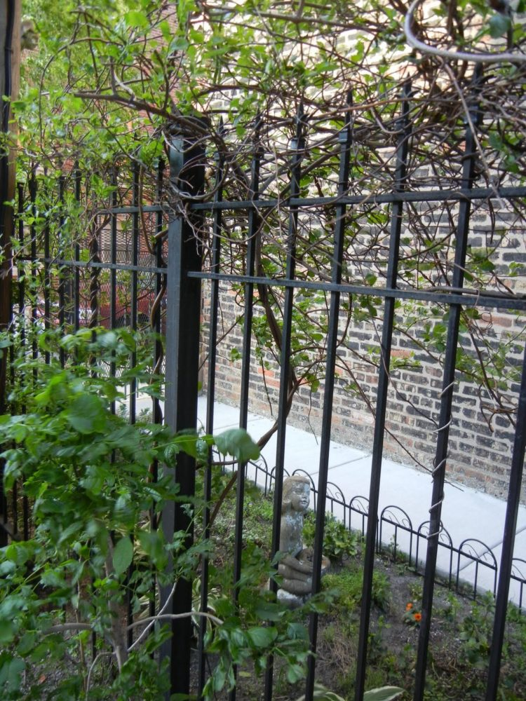 1.8 m chain link fence
