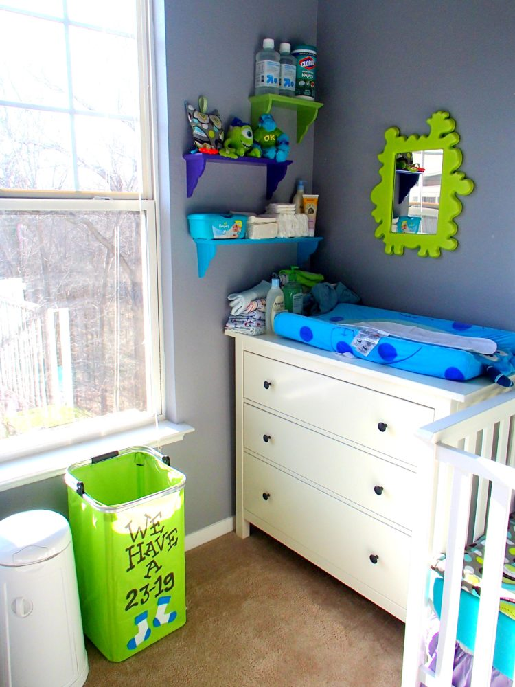 changing table cart