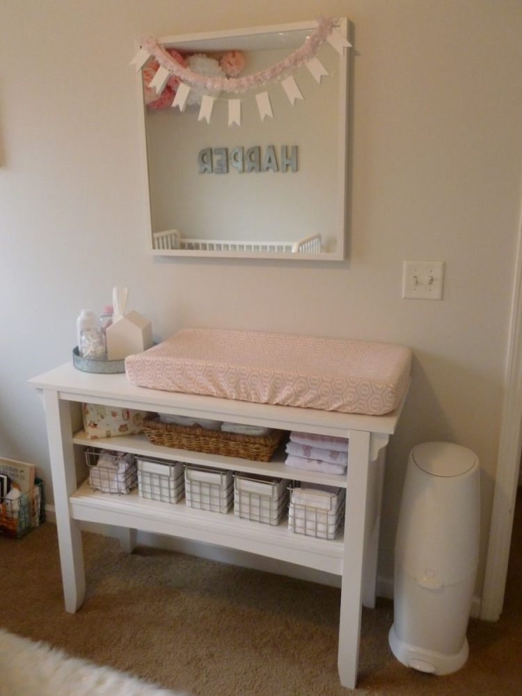 changing table espresso