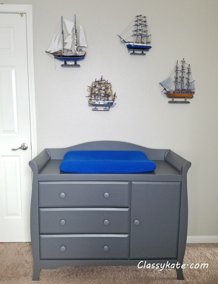 changing table living room