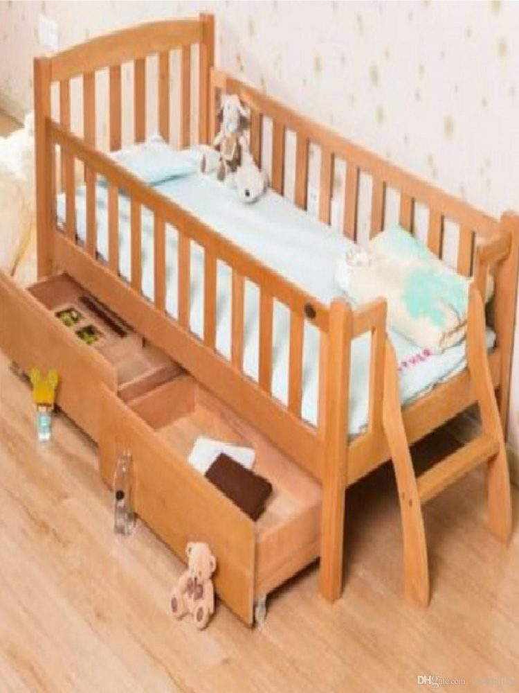 changing table natural wood