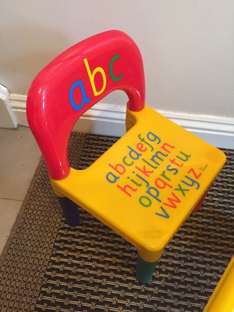 childrens table and chairs modern