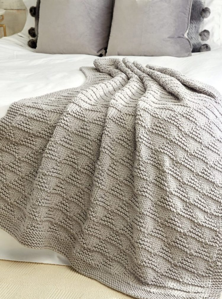 chunky knit blanket for sale near me