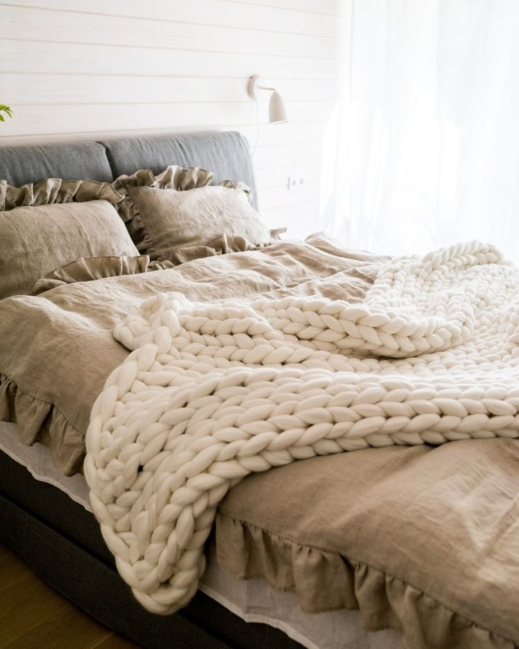 chunky knit blanket for sale south africa