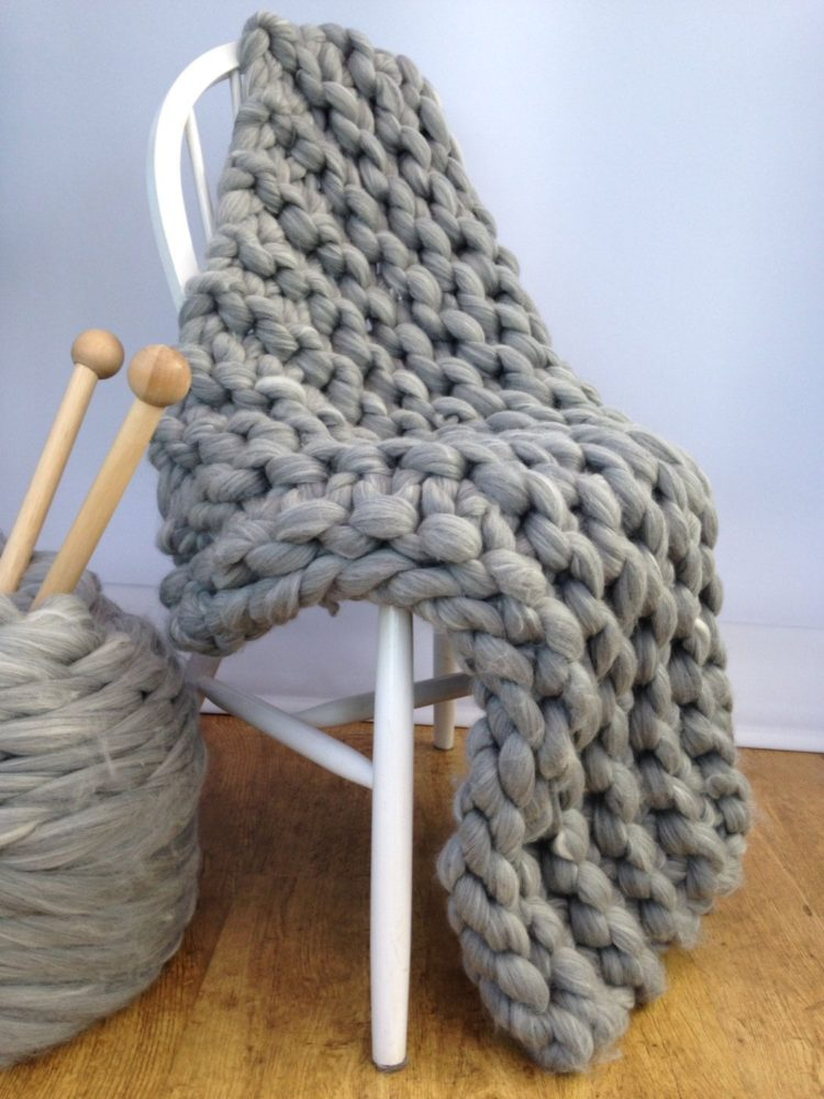 chunky knit blanket reviews