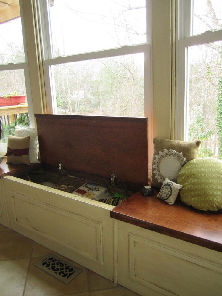 storage bench living spaces