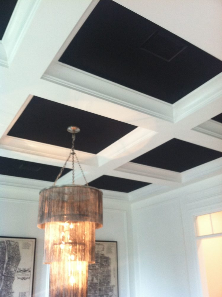 coffered ceiling add value