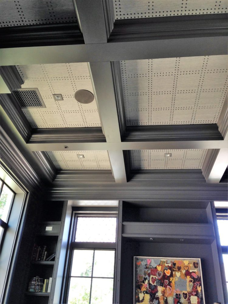 coffered ceiling diy