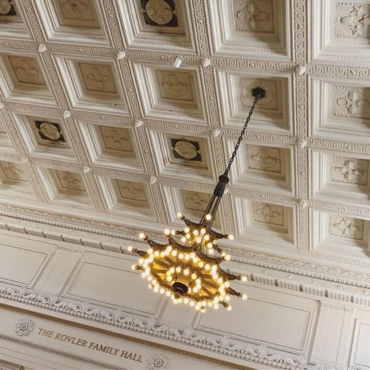 coffered ceiling look