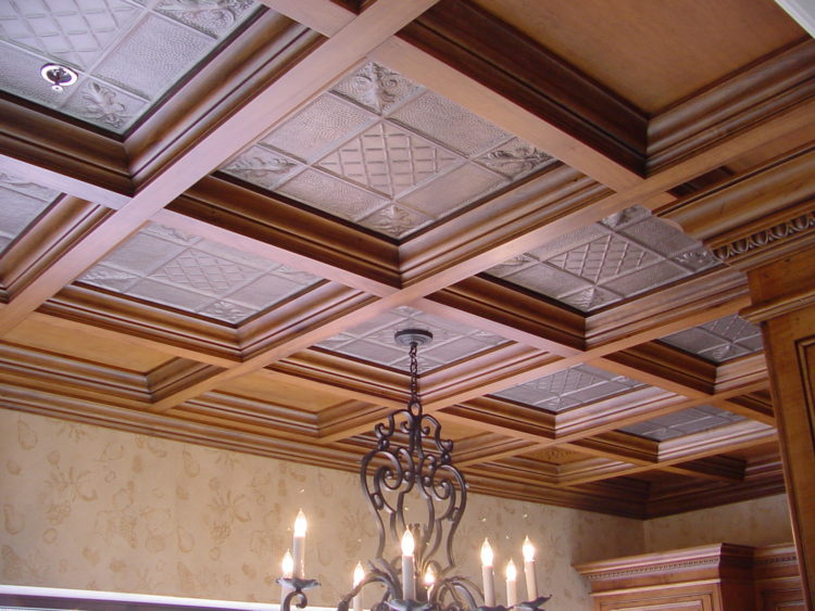coffered ceiling materials