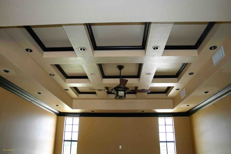 coffered ceiling new construction