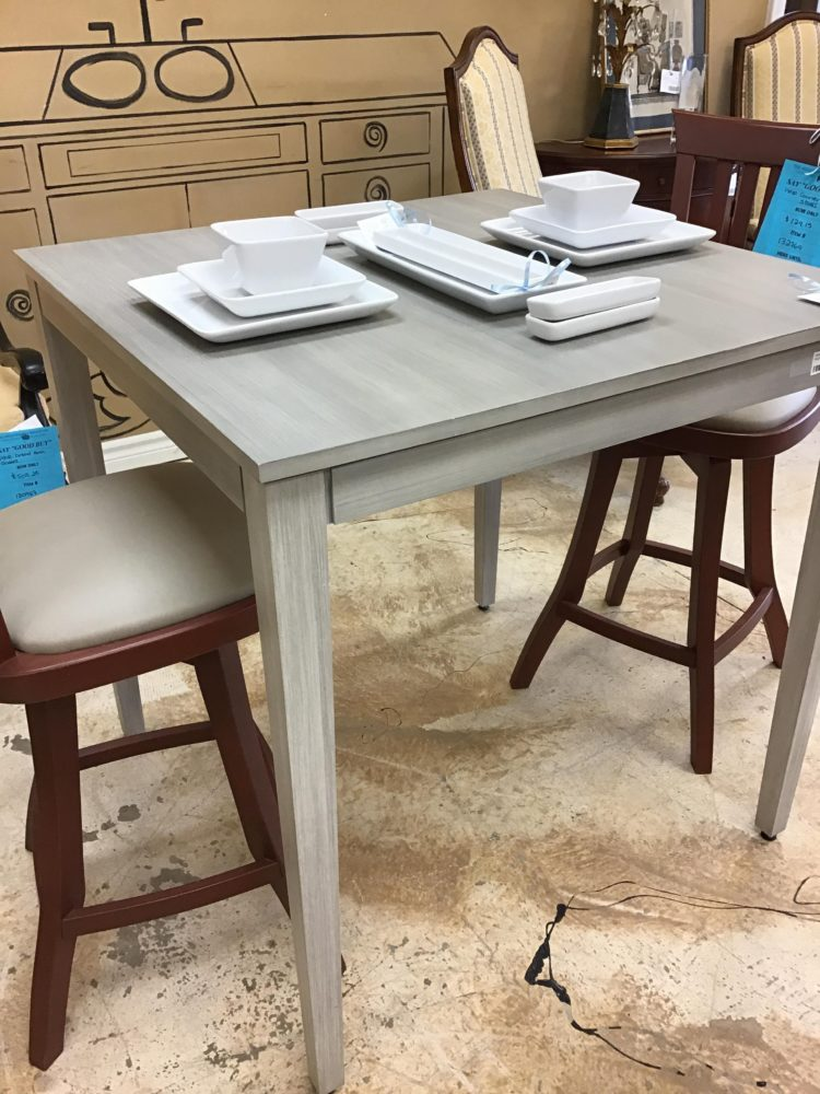 counter height table drop leaf