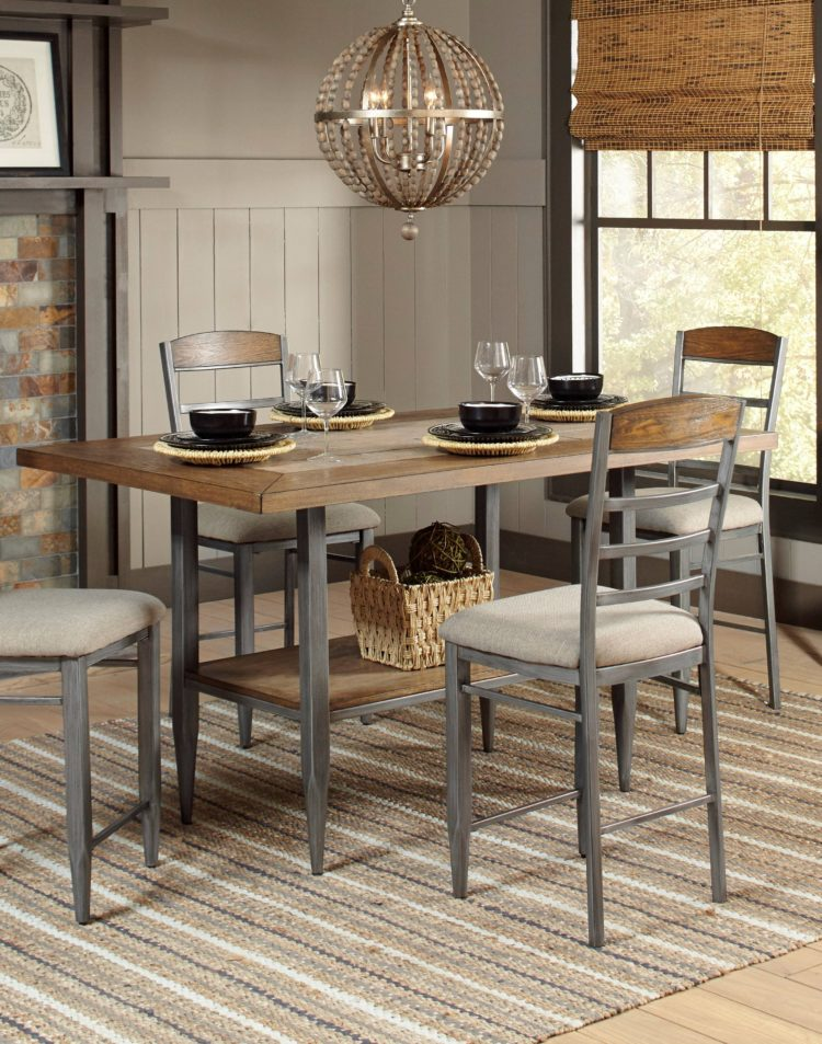 counter height table chair sets