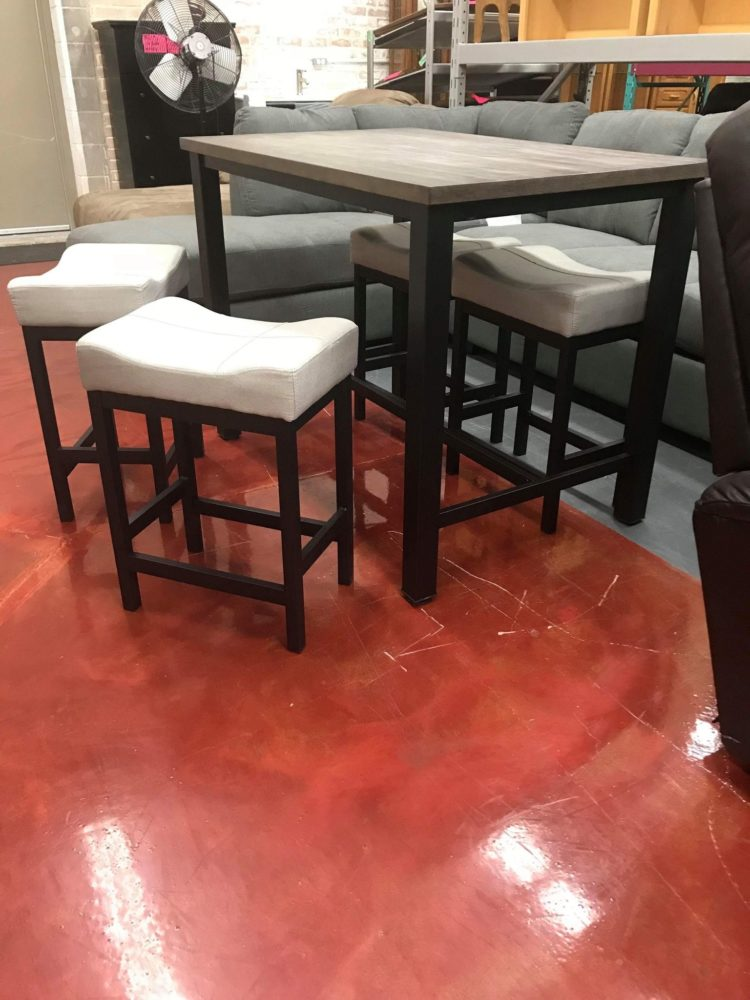 counter height table dining
