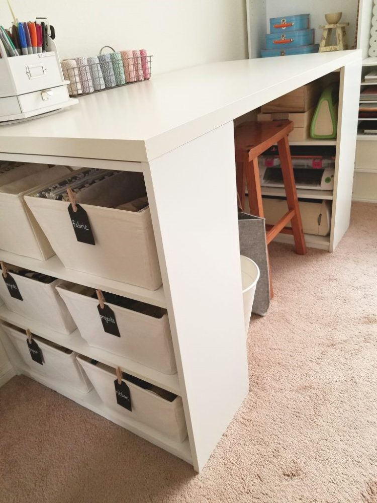 craft table for small spaces